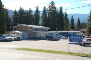 new roof at Sicamous United Church and a busy day at our Thrift Shop